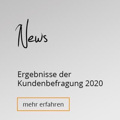 News Kundenbefragung 2020