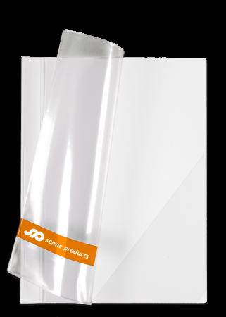 Angebotsmappe A4, Vinyl weiß mit Siebdruck auf der Vorderseite
